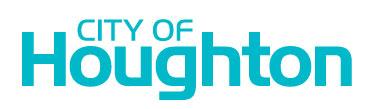 city of houghton logo